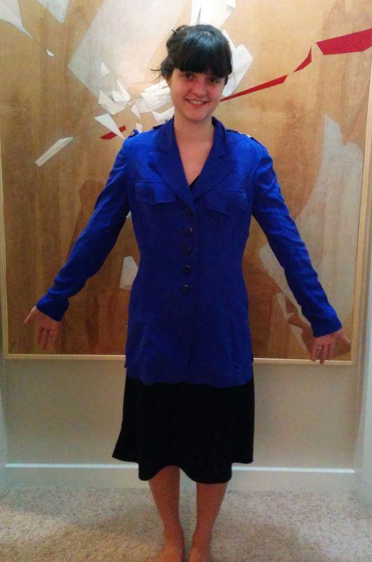90s blue jacket
